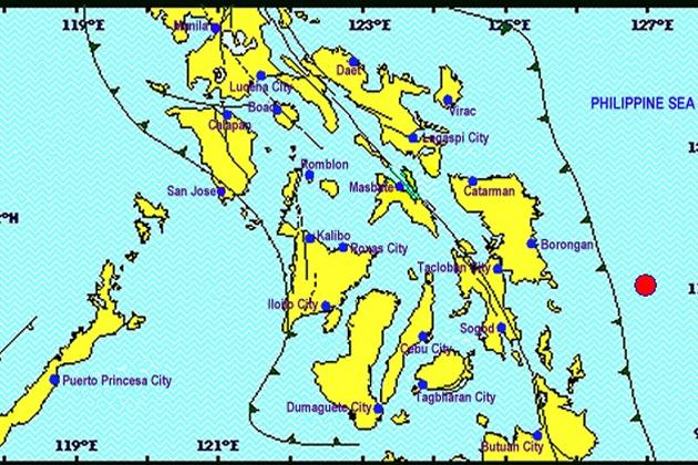 A 5.5 magnitude earthquake hit several areas in Eastern Samar Thursday.