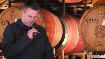 Maryhill Winery's winemaker, Richard Batchelor. Photo credit Maryhill Winery.