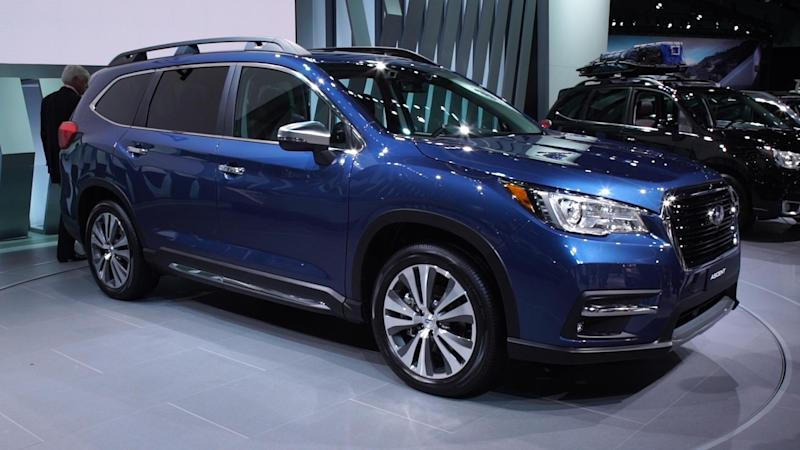 2019 Subaru Ascent Fills An Suv Sized Hole
