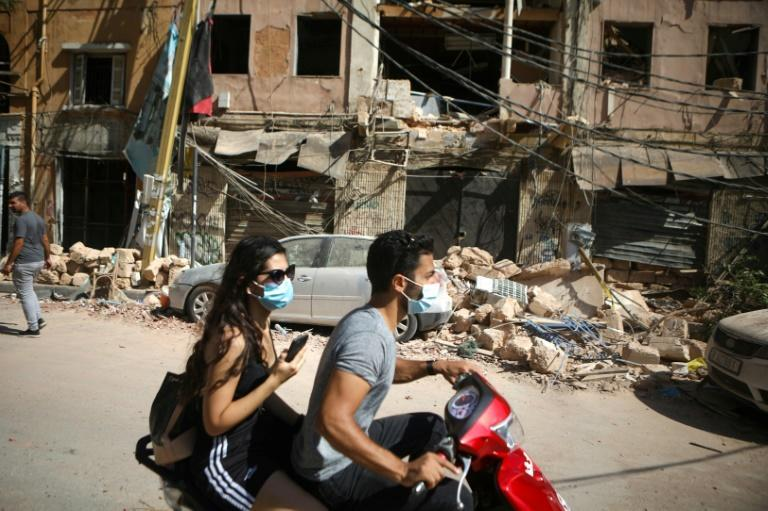 Beirut's Mar Mikhail district was devastated by the blast
