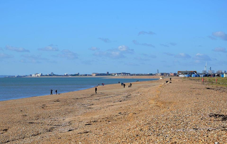 """<p>Once dependent on fishing, farming and salt production, Hayling Island is now a popular summer tourist destination. Situated off the south coast of England, visitors will love its silky stretch of sand, seaside attractions and water sports. </p><p><strong>Like this article? <a href=""""https://hearst.emsecure.net/optiext/cr.aspx?ID=rEIqRuDcS16UGvb2CsG9coU7Y5ojOQn7P8im9ejs0NiFp18n8XFjb_nzImbDz5wFw3EeZozf_PGbri"""" rel=""""nofollow noopener"""" target=""""_blank"""" data-ylk=""""slk:Sign up to our newsletter"""" class=""""link rapid-noclick-resp"""">Sign up to our newsletter</a> to get more articles like this delivered straight to your inbox.</strong></p><p><a class=""""link rapid-noclick-resp"""" href=""""https://hearst.emsecure.net/optiext/cr.aspx?ID=rEIqRuDcS16UGvb2CsG9coU7Y5ojOQn7P8im9ejs0NiFp18n8XFjb_nzImbDz5wFw3EeZozf_PGbri"""" rel=""""nofollow noopener"""" target=""""_blank"""" data-ylk=""""slk:SIGN UP"""">SIGN UP</a></p>"""