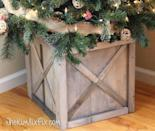 "<p>Scrap wood comes to the rescue when you build this cute box with an ""X"" design. A weathering finish transforms raw wood into this attractive driftwood color. </p><p><strong>Get the tutorial at <a href=""https://www.thekimsixfix.com/2015/11/diy-scrap-wood-crate-christmas-tree-stand.html"" rel=""nofollow noopener"" target=""_blank"" data-ylk=""slk:The Kim Six Fix"" class=""link rapid-noclick-resp"">The Kim Six Fix</a>.</strong></p><p><a class=""link rapid-noclick-resp"" href=""https://www.amazon.com/DRIFTWOOD-WEATHERING-WOOD-FINISH-2-Pak/dp/B00IY3U3YS/ref=as_li_ss_tl?tag=syn-yahoo-20&ascsubtag=%5Bartid%7C10050.g.28746492%5Bsrc%7Cyahoo-us"" rel=""nofollow noopener"" target=""_blank"" data-ylk=""slk:SHOP WEATHERING FINISH"">SHOP WEATHERING FINISH</a></p>"