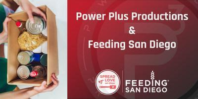 Power Plus Productions partners with Feeding San Diego to serve the Hospitality and Live Event Communities that have been severely impacted by COVID.