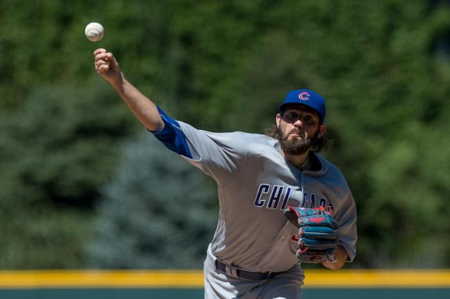 Jason Hammel won 15 games last season for the Cubs. (Getty Images)