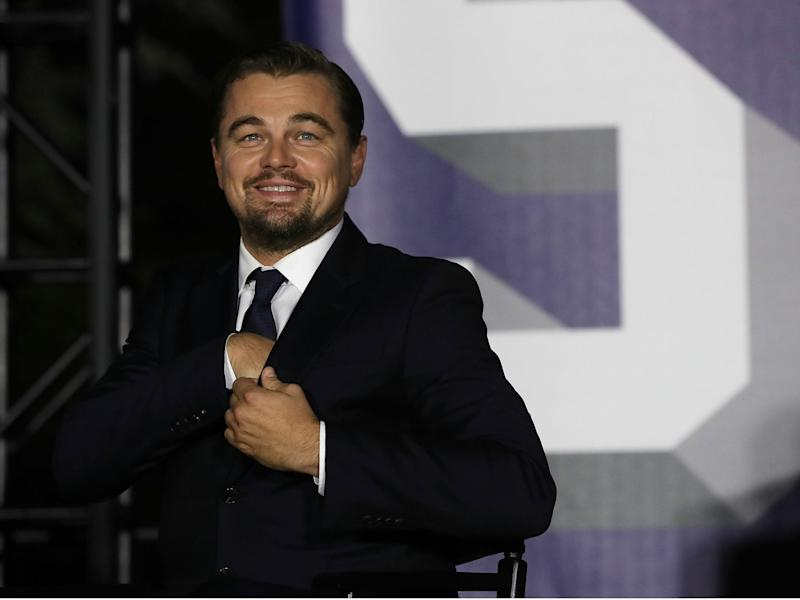 Actor Leonardo DiCaprio commits $20 million in grants through his foundation to climate change charities: Alex Wong/Getty Images
