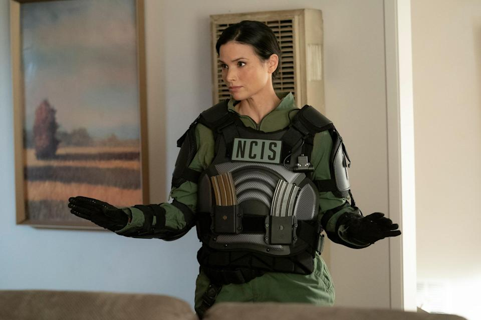"""Katrina Law, who appeared as Special Agent Jessica Knight on """"NCIS"""" last season, will be a series regular in Season 19 of the hit CBS procedural."""