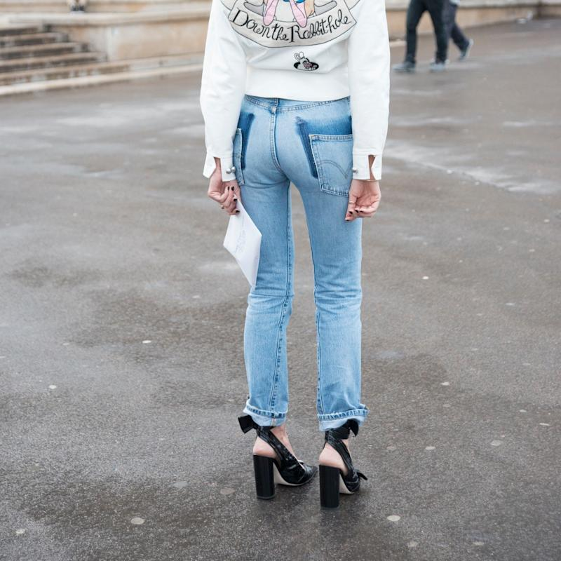 In the Cheekiest Move Yet, Vetements Makes Jeans That Show Your Bare Butt