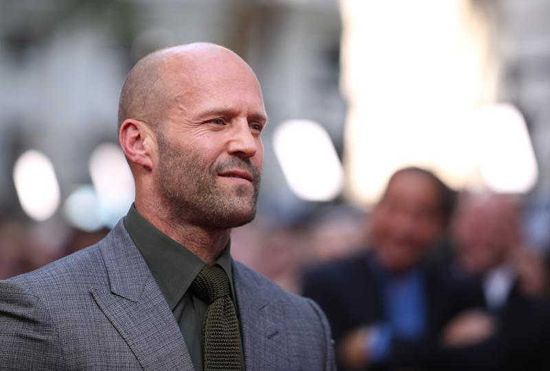 "LONDON, ENGLAND - JULY 23: Jason Statham attends the ""Fast & Furious: Hobbs & Shaw"" Special Screening at The Curzon Mayfair on July 23, 2019 in London, England. (Photo by Mike Marsland/WireImage)"