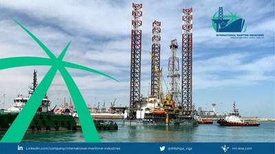"""International Maritime Industries completes the """"Maintenance, Repair & Overhaul (MRO)"""" of the ARO-2003 (SAR201) with ARO Drilling"""