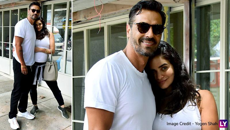 Exclusive! Arjun Rampal and Girlfriend Gabriella Demetriades Blessed with a Healthy Baby Boy