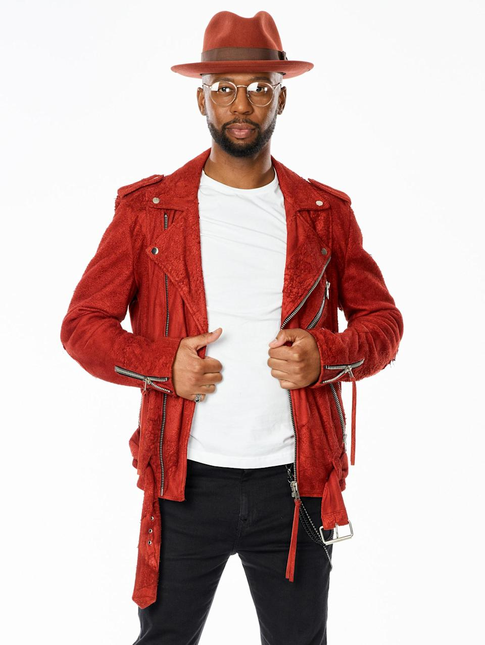 """<p><strong>Age:</strong> 35</p> <p><strong>Hometown:</strong> Aurora, Colorado</p> <p><strong>Resident:</strong> Denver, Colorado</p> <p>Jones has always loved singing, and he committed himself to pursuing music after graduating high school. He got hired to sing in an Afrobeat band and took on the task of teaching himself to sing in Swahili. For 17 years, Jones performed in a wedding band and at various community events while also working his way up in office jobs to pay the bills. He is now a client relations manager at a tech firm, but he still dreams of being a professional singer. Jones is ready to make his dream a reality on <em>The Voice</em>.</p> <p>""""This experience has been a dream come true and has been overwhelmingly exciting and humbling,"""" he says. """"I've been a huge fan of Nick Jonas for so long.""""</p> <p>He adds: """"I'm very excited to get to work with him on <em>The Voice</em> Season 20, and I'm extremely thankful for this opportunity!""""</p>"""