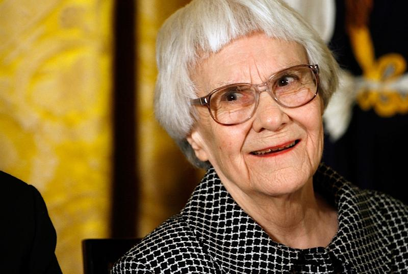 "Pulitzer Prize winner and ""To Kill A Mockingbird"" author Harper Lee on November 5, 2007 in Washington, DC"