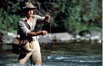 <p><strong><em>A River Runs Through It </em></strong></p><p>If photos of Brad Pitt fly fishing aren't on the brochure trying to convince people to go to Montana, they should fix that stat. </p>