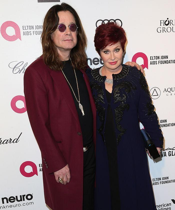 Sharon and Ozzy. Source: Getty Images.