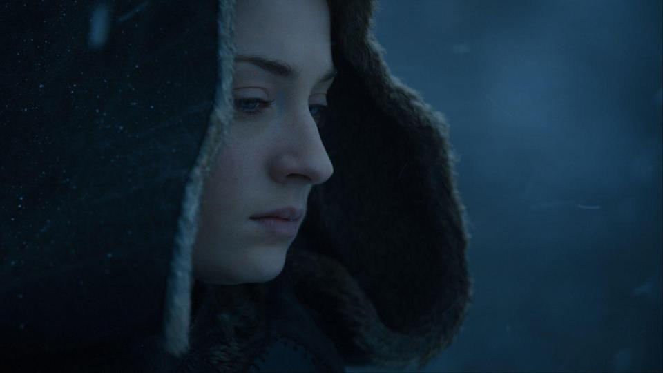 <p>After Sansa orders Littlefinger's execution in season 7, we see her overall energy totally shift. She's become much more calculating and guarded as a result of everything she's been through, and that steely attitude is reflected in her style. </p>