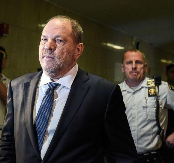 PHOTO: Harvey Weinstein arrives at the New York State Supreme Court, Oct. 11, 2018 in N.Y. (Stephanie Keith/Getty Images)