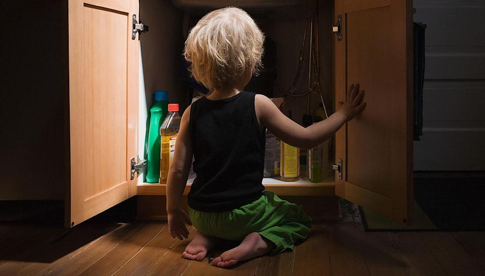 Cleaning products are also hazardous to children. Source: File/Getty Images