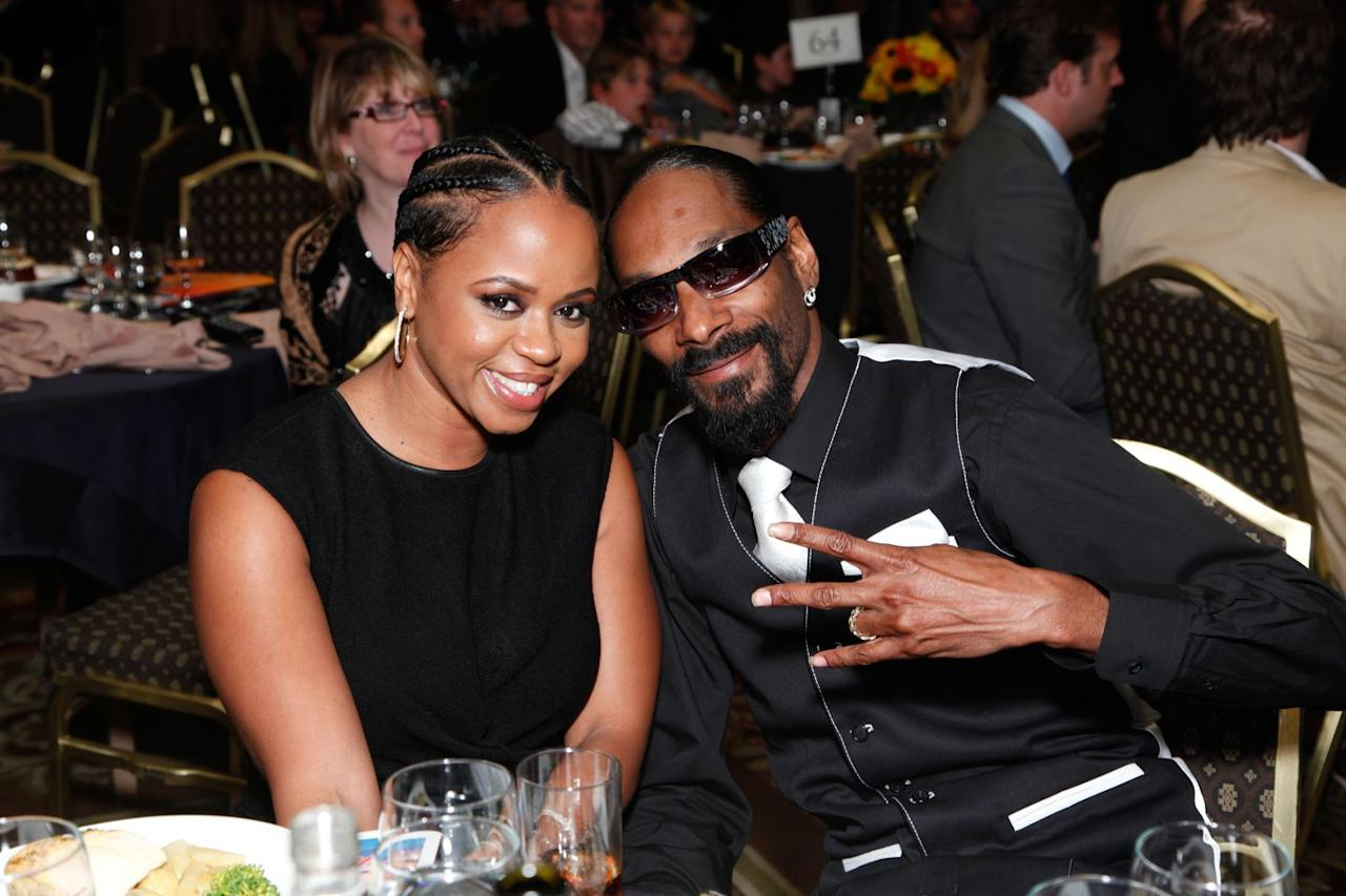 <p>They've been married for 18 years and were high school sweethearts. I mean SNOOP LION </3.</p>