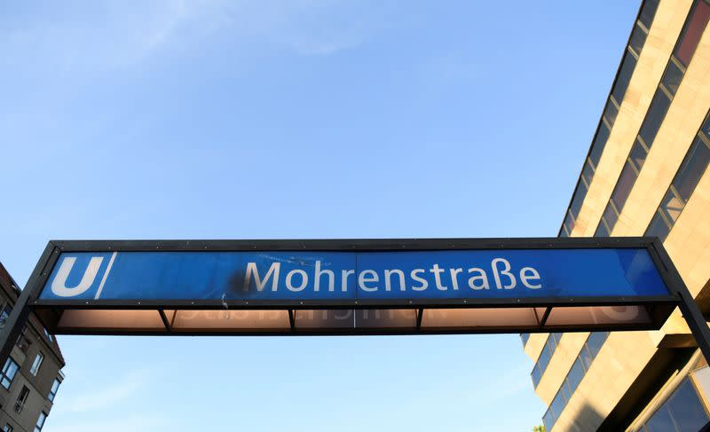 Berlin metro to change derogatory station name by end of year