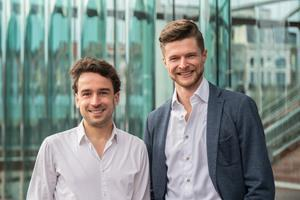 Jonathan van Driessen (left) & Anthony Lamot (right), co-founders at DESelect