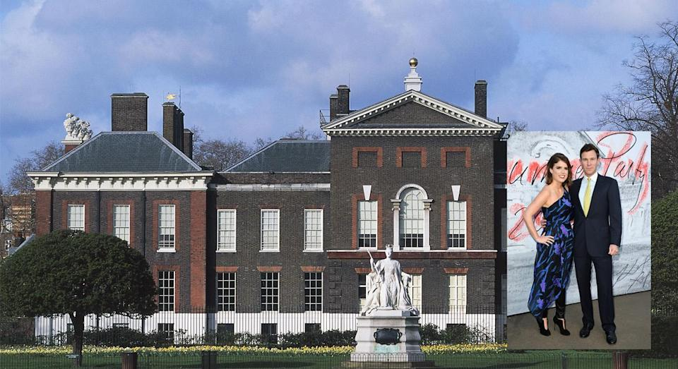 <p>After announcing their engagement back in January 2018, Princess Eugenie and Jack Brooksbank moved into Ivy Cottage at Kensington Palace. With Harry and Meghan as neighbours, who can blame them? <em>[Photo: Getty]</em> </p>