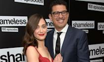 <p>Rossum met the Mr. Robot creator when she starred in his 2014 movie Comet. They became in engaged in 2015 after two years of dating and officially tied the knot in 2017. </p>