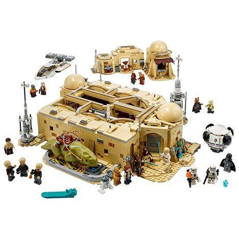 "<p>Send the kids away — this LEGO set isn't for them. Instead, this replica of the famous Tatooine spaceport clocks in at more than 3,100 pieces. If you must, you can let the kids play with the 21 minifigs, including Greedo, Ponda Baba, Dr. Evazan and the Cantina musicians. This one doesn't ship until October, but it's available for pre-order now. <em>Ages 18+</em></p><p><a class=""link rapid-noclick-resp"" href=""https://go.redirectingat.com?id=74968X1596630&url=https%3A%2F%2Fwww.lego.com%2Fen-us%2Fproduct%2Fmos-eisley-cantina-75290&sref=https%3A%2F%2Fwww.goodhousekeeping.com%2Fholidays%2Fgift-ideas%2Fg29624061%2Fstar-wars-gifts%2F"" rel=""nofollow noopener"" target=""_blank"" data-ylk=""slk:BUY NOW"">BUY NOW</a><br></p>"