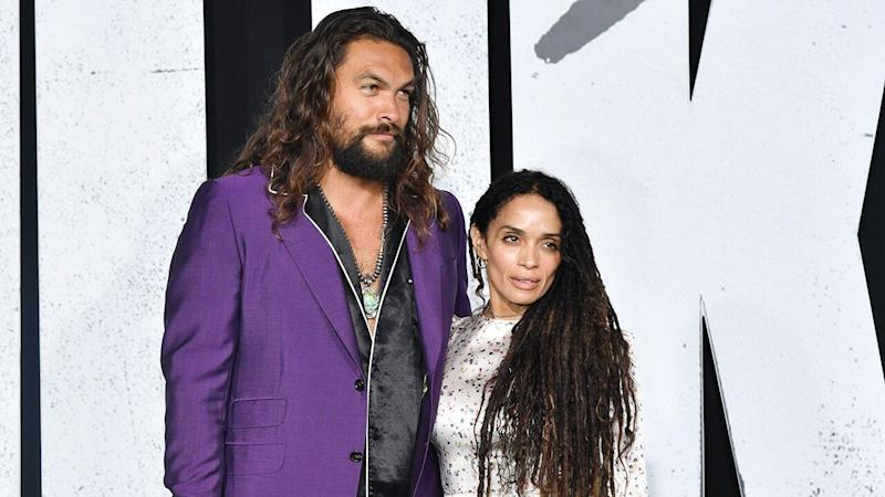 Jason Momoa and Lisa Bonet Are Couple Goals at Hollywood Premiere of 'Joker': Pics