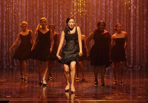 PHOTO: Naya Rivera performs the 300th song on the set of 'Glee'. (FOX Image Collection via Getty Images, FILE)