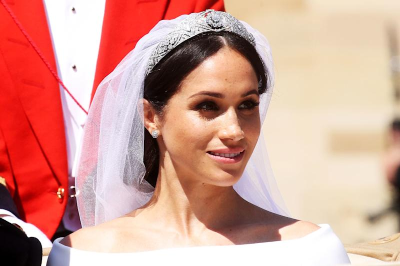 """Meghan Markle's Hairstylist Confirms all the Details About the Bridal """"Messy Bun"""""""