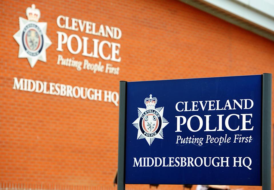 A general view of the Middlesbrough headquarters of Cleveland Police. The force's Chief Constable Sean Price and his deputy Derek Bonnard were arrested yesterday as part of a corruption investigation.   (Photo by Owen Humphreys/PA Images via Getty Images)