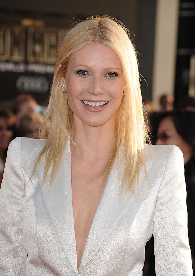 "<a href=""http://movies.yahoo.com/movie/contributor/1800018601"">Gwyneth Paltrow</a> at the Los Angeles premiere of <a href=""http://movies.yahoo.com/movie/1810026429/info"">Iron Man 2</a> - 04/26/2010"