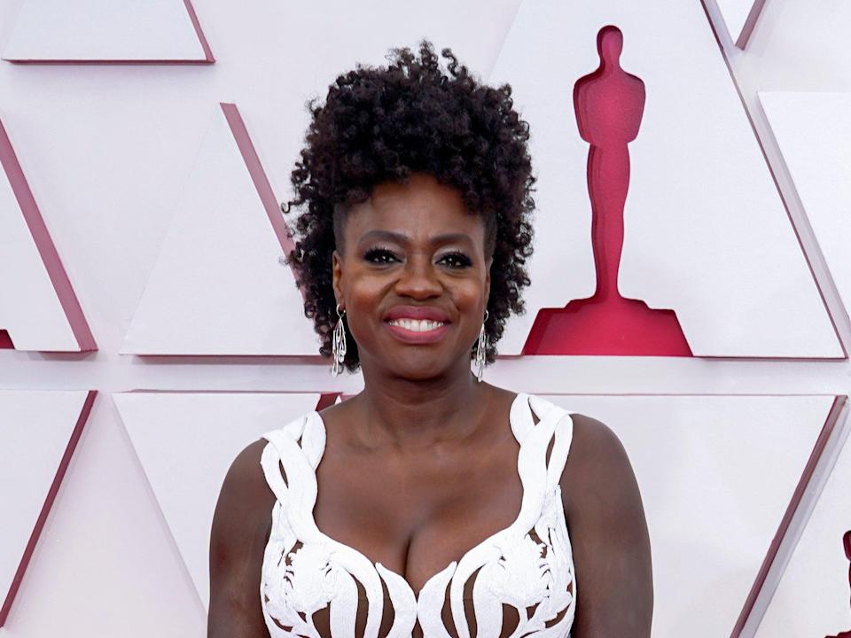 Viola Davis photographed at the 2021 Oscars (Getty Images)