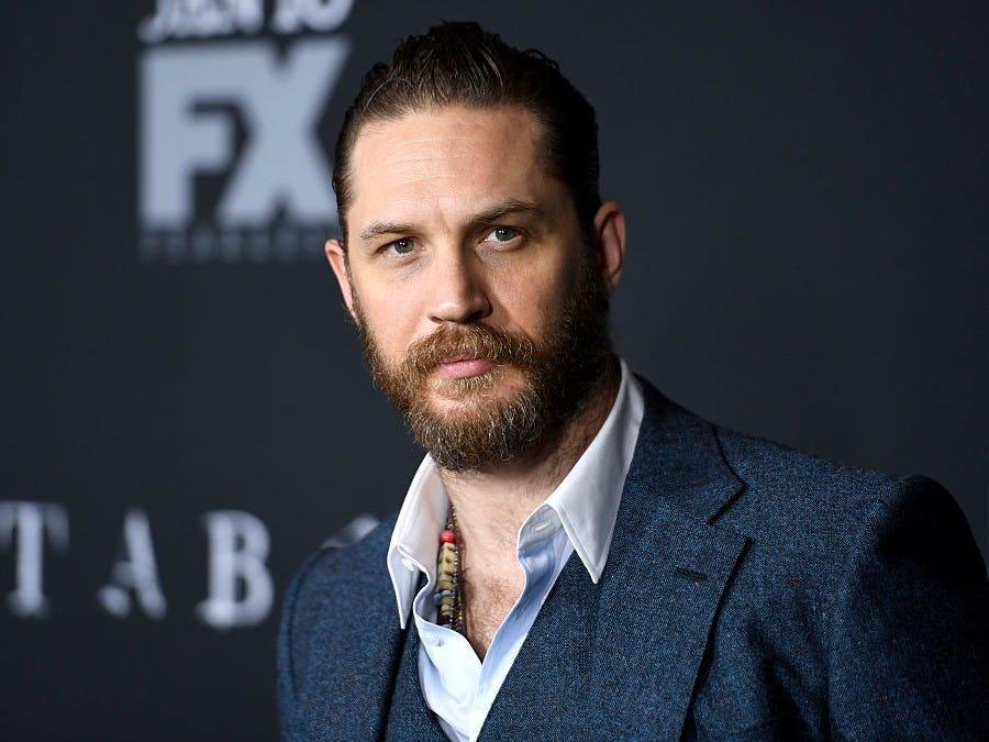 Tom Hardy is an actor.