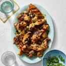 """<p>Ditching a fryer for the grill can make whipping up a batch of finger-licking-good chicken wings less of a mess — and saves you time, too!</p><p><em><a href=""""https://www.goodhousekeeping.com/food-recipes/a31914016/grilled-chicken-wings-recipe/"""" rel=""""nofollow noopener"""" target=""""_blank"""" data-ylk=""""slk:Get the recipe for Grilled Chicken Wings »"""" class=""""link rapid-noclick-resp"""">Get the recipe for Grilled Chicken Wings »</a></em></p>"""