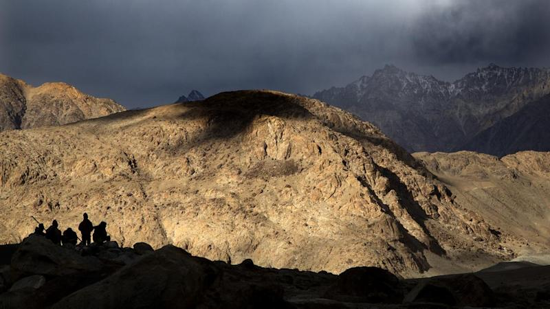Indian and Chinese soldiers have been facing off for more than a month in the Ladakh region