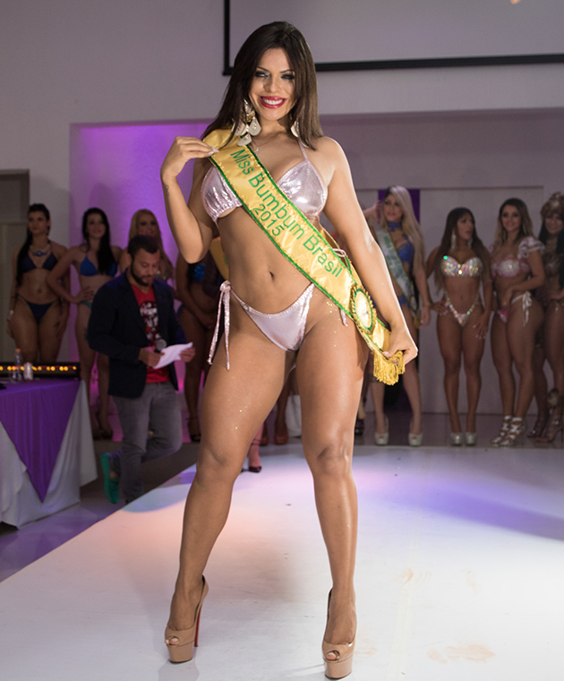 Suzy was crowned Miss BumBum 2015.