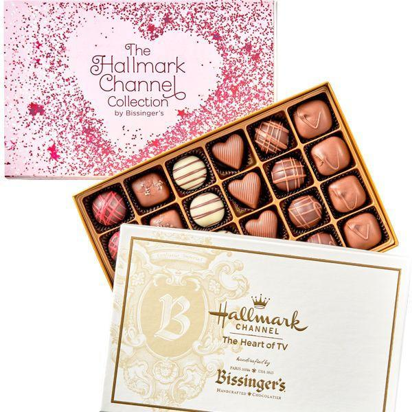 "<p><strong>bissin</strong></p><p>bissingers.com</p><p><strong>$38.00</strong></p><p><a href=""https://www.bissingers.com/product/Hallmark-Channel-Valentines-Day-Collection/Bissingers-Valentines-Day"" rel=""nofollow noopener"" target=""_blank"" data-ylk=""slk:Shop Now"" class=""link rapid-noclick-resp"">Shop Now</a></p><p>This special collection from Hallmark Channel and Bissinger's pairs perfectly with your viewing of the new <a href=""https://www.countryliving.com/life/entertainment/a15871139/hallmark-channel-countdown-to-valentines-day/"" rel=""nofollow noopener"" target=""_blank"" data-ylk=""slk:Love Ever After"" class=""link rapid-noclick-resp"">Love Ever After</a> movies with flavors like First Kiss, Key to My Heart, True Love, and more.</p>"