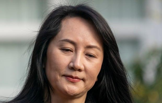 Huawei chief financial officer Meng Wanzhou leaves her home for B.C. Supreme Court where she is fighting against extradition to the United States. (The Canadian Press/Jonathan Hayward - image credit)