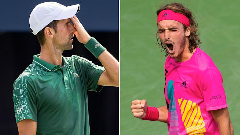 No Joke: Tsitsipas upsets Djokovic to reach Rogers Cup quarter-finals