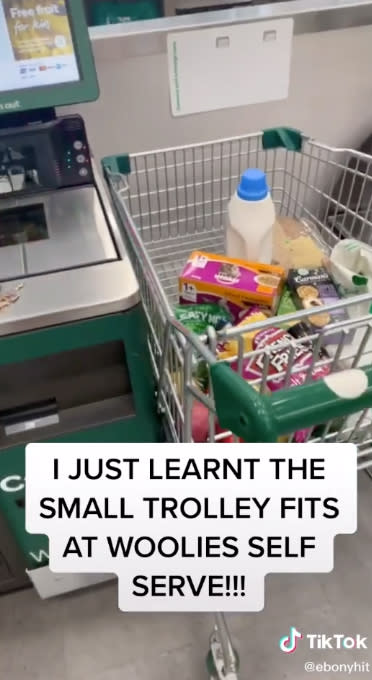 An image of the shopping trolley trick