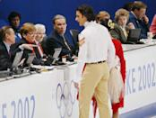 """<p>Following accusations of collusion in favor of the Russian figure skating pair that ultimately won gold, <a href=""""https://go.redirectingat.com?id=74968X1596630&url=https%3A%2F%2Fwww.espn.com%2Folympics%2Fwinter02%2Ffigure%2Fnews%3Fid%3D1333280&sref=https%3A%2F%2Fwww.redbookmag.com%2Flife%2Fg36983465%2Ficonic-olympic-scandals%2F"""" rel=""""nofollow noopener"""" target=""""_blank"""" data-ylk=""""slk:a second pair of gold medals was awarded to the Canadian duo many thought were snubbed"""" class=""""link rapid-noclick-resp"""">a second pair of gold medals was awarded to the Canadian duo many thought were snubbed</a>. Despite the """"everyone's a winner"""" mentality, the skating community was scandalized and divided over the ordeal.</p>"""
