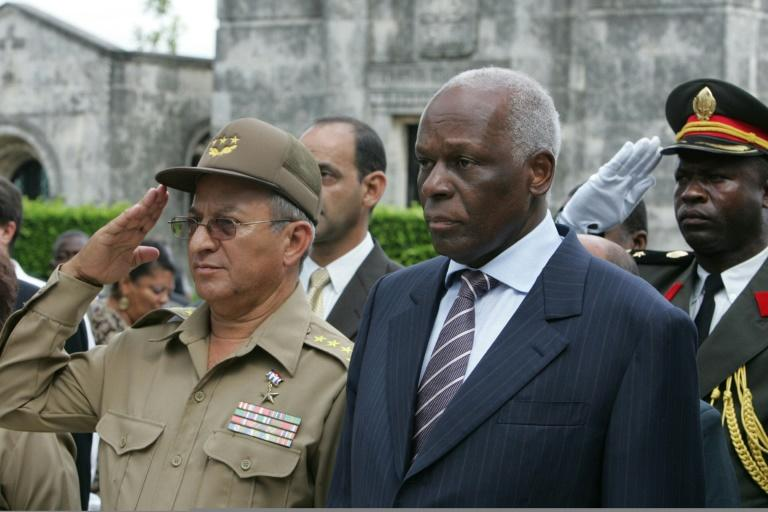 Jose Eduardo Dos Santos o served as President of Angola from 1979 to 2017 (AFP Photo/Adalberto ROQUE)
