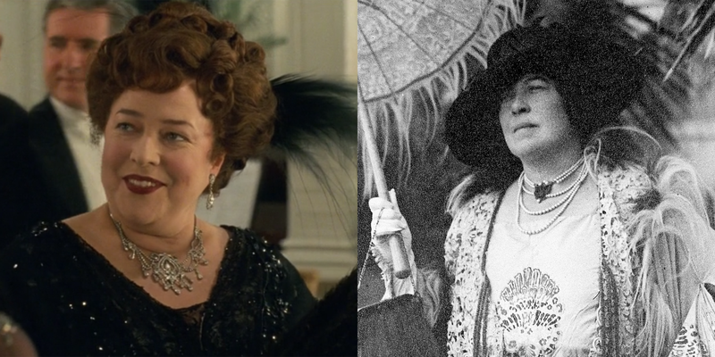 """<p>Though Jack and Rose were completely made up, there are plenty of """"characters"""" in <em>Titanic </em>who were real people, many of whom had stories so interesting they could make up their own three-hour movie. Click through to see 17 real-life survivors and victims of the <em>Titanic</em> along with their cinematic counterparts. </p>"""