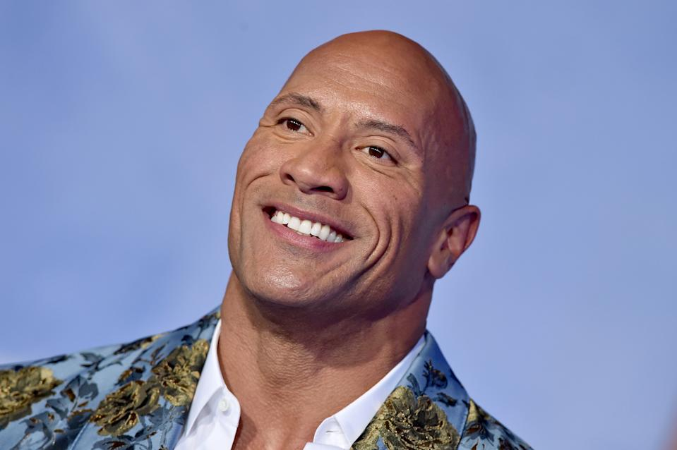 Dwayne Johnson says he'll