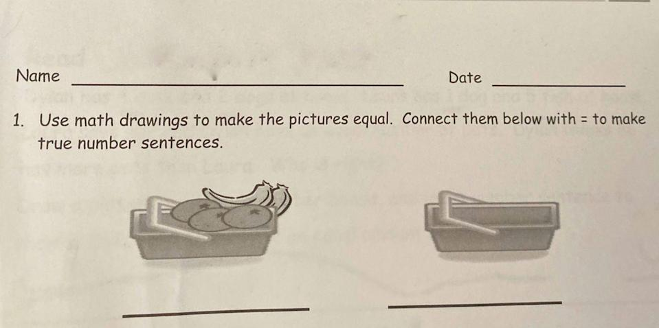 Adults Can't Seem to Understand This Math Problem for First Graders. Can You?