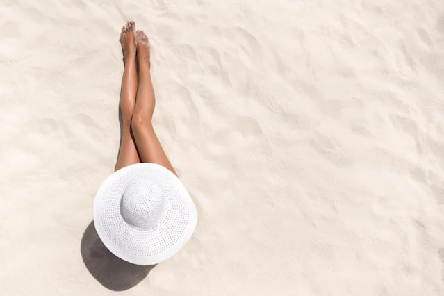 A golden tan means skin damage has occurred. (Getty Images)