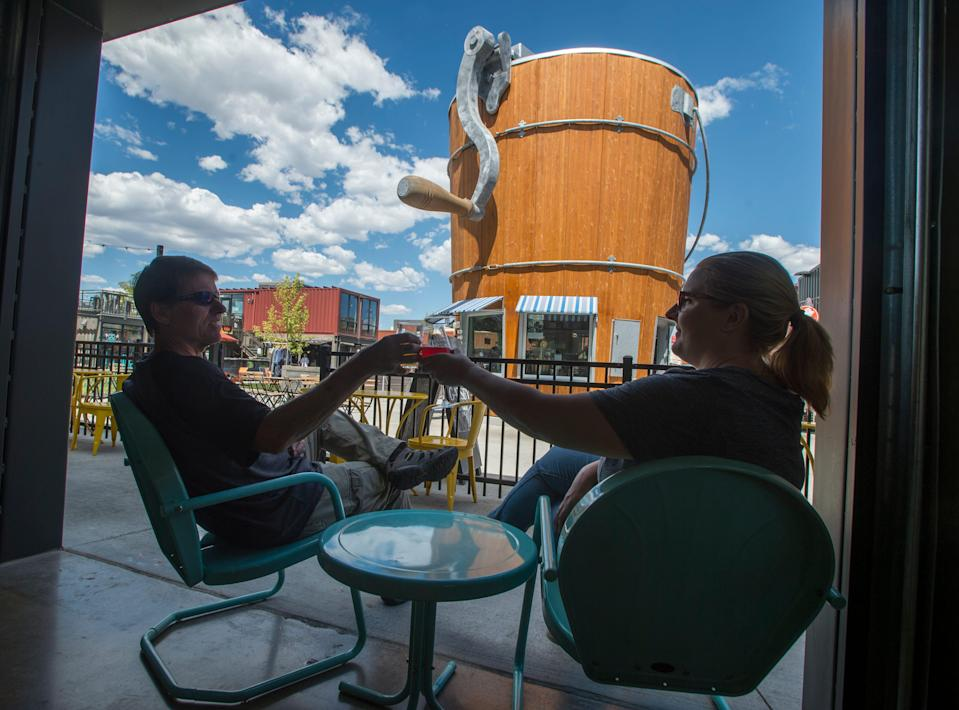 The Exchange development in Fort Collins attracts beer lovers, hipster and non-hipster alike.