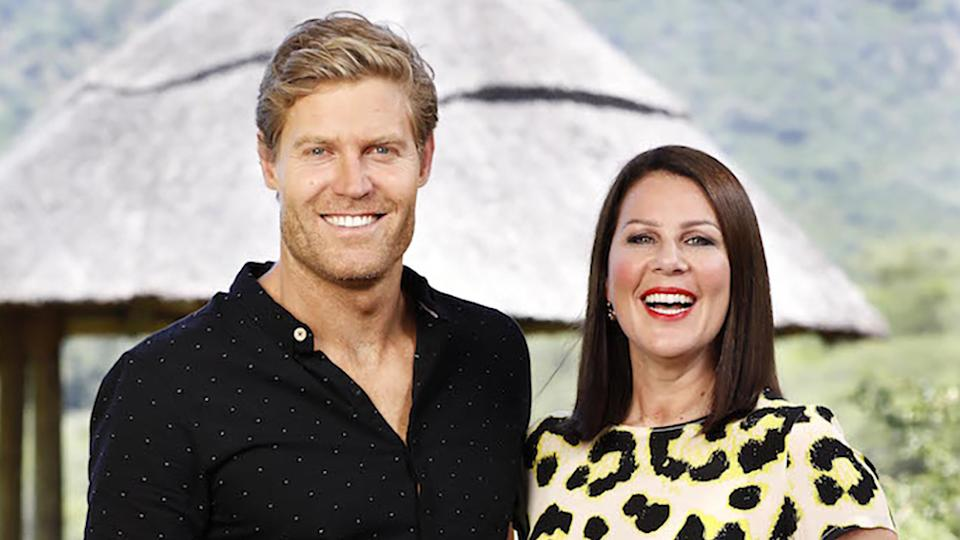 Dr Chris Brown and Julia Morris return to host I'm A Celebrity... Get Me Out Of Here in 2021. Photo: Ten