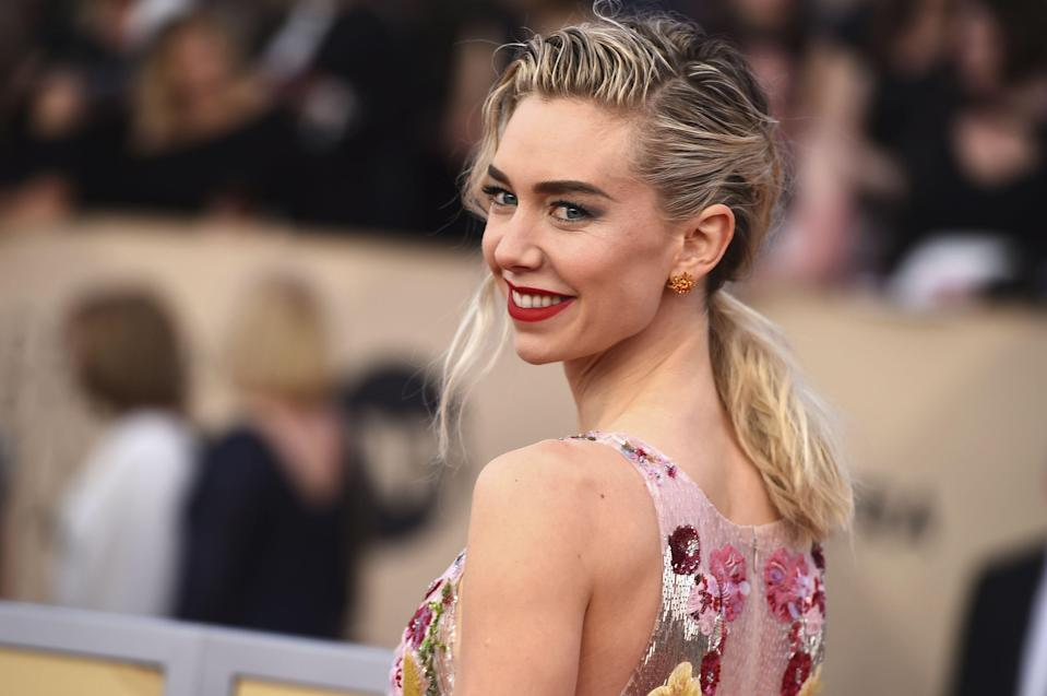 """<p>Vanessa Kirby might be best known for her role as the fashionable Princess Margaret in Netflix's hit series <em><a href=""""https://www.townandcountrymag.com/leisure/arts-and-culture/a30729276/the-crown-season-5/"""" rel=""""nofollow noopener"""" target=""""_blank"""" data-ylk=""""slk:The Crown"""" class=""""link rapid-noclick-resp"""">The Crown</a>. </em>But the British actress continues to prove her talent, most recently in <em><a href=""""https://www.netflix.com/title/81128745"""" rel=""""nofollow noopener"""" target=""""_blank"""" data-ylk=""""slk:Pieces of a Woman"""" class=""""link rapid-noclick-resp"""">Pieces of a Woman</a></em>, which earned her a best actress nomination for this year's Oscars. From movie premieres to music festivals, here are some of her most stylish looks. </p>"""